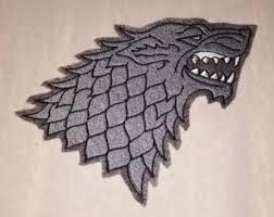 Game Of Thrones Stark House Crest Wooden Plaque Stark dire wolf Etsy 61