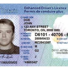 Drivers License – Scene Canadian Reliable