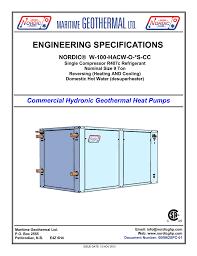 Geothermal Heat Exchanger Design 000862spc 01 Nordic Geothermal Heat Pump