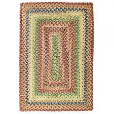 venetian glass braided rug