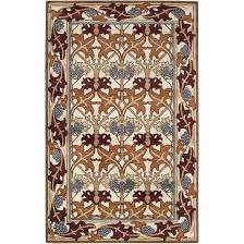 arts and crafts style rugs arts crafts mission style ivory wool area rug wool craftsman style