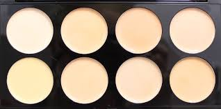 um 4 makeup revolution ultra cover concealer palette in light
