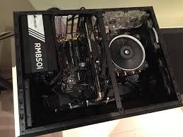 Design Node 605 Clarkys Completed Build Core I5 6600k 3 5 Ghz Quad Core