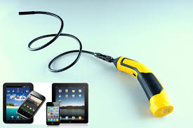 Flexible Inspection Camera With Light 9mm Flexible Inspection Camera For Iphone Android Oasis