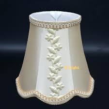 fabric lamp shades beige leaves mini lamp shade elegant fabric lampshades covers fitting for lamp holder