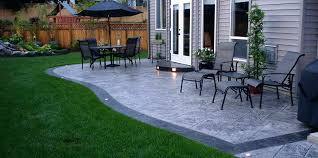 stamped concrete patio with fire pit cost. Stamped Concrete Patio Cost Mn . With Fire Pit