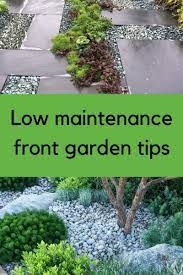 low maintenance front garden ideas