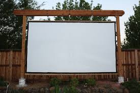 New frame and screen - Backyard Theater Forums