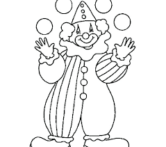 circus coloring pages clown coloring pages for preschoolers circus and clown coloring clown coloring pages circus