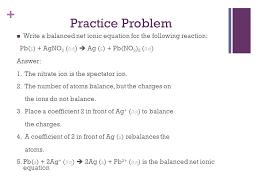 example of net ionic equation problems jennarocca