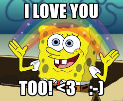 spongebob rainbow meme generator
