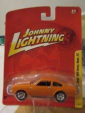 vega gt chevrolet johnny lightning 1 64 jl9 millionth 1973 chevy vega gt orange