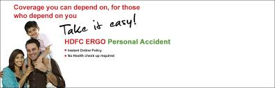 renew personal accident insurance policy hdfc ergo