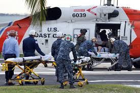 u s department of defense photo essay  hospital personnel at u s naval hospital guantanamo bay receive five american victims of the