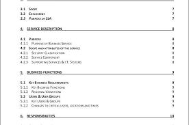 Help Desk Service Level Agreement Template – Francistan Template