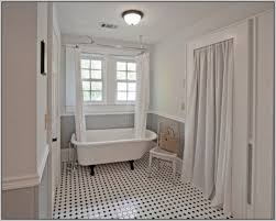 claw tub shower curtain excellent clawfoot tub shower curtain rod how to make amazing bathroom regarding