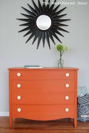 best  orange dresser ideas on pinterest  diy orange furniture