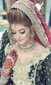 in this post we are demonstrated the most recent kashees beautiful bridal hairstyle and bridal makeup for stani marriage
