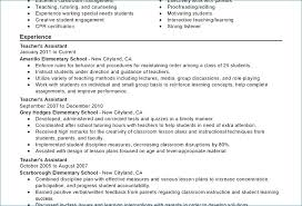Objective For Teaching Resume Early Childhood Resume Objective artemushka 67
