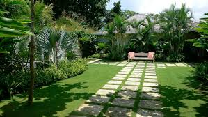 Landscape, Charming Green Landscaping Modern Grass And Stone Best  Landscaping Ornamental Relaxing Space And Mixed