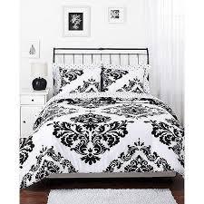 bed sheet and comforter sets classic noir reversible comforter set walmart com