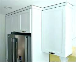 shaker style crown molding installing on cabinets kitchen cabinet how to install