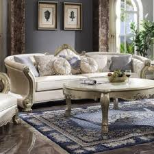 Our leather sofas under $300 include futons, sofa beds, sectionals, stationary couches, and more to deliver just the right seating for your home. Acme Furniture Dresden Ii 54875 Traditional Pearl Faux Leather Sofa W 7 Pillows Del Sol Furniture Sofas