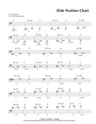 Trombone Finger Chart Pdf Documents Whitney High School Music