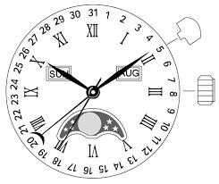 instruction manual for <b>miyota</b> watch movement caliber no. 6p80