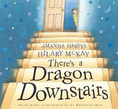 There's a Dragon Downstairs: McKay, Hilary, Harvey, Amanda: 9780340841426:  Amazon.com: Books