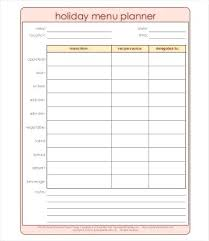 Holiday Planner Template Daily Meal Plan Template Holiday Rota 2017 Mymuso Co