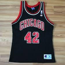 Vintage Champion Nba Chicago Bulls Elton Brand Jersey Mens
