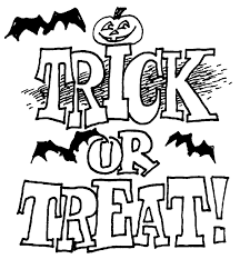 Free Happy Halloween Coloring Pages Trick Or Treat Coloringstar