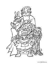Halloween Coloring Pages Printable For Free Monsters Page Source ...