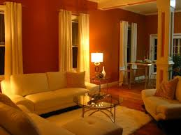 Burnt Orange And Brown Living Room Concept Custom Inspiration Design