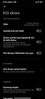 Xiaomi ekran kilidi süresi nasıl uzatılır