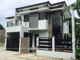 New Model House Design Philippines Modern Zen 2 Storey Residence Vermont Royale Antipolo