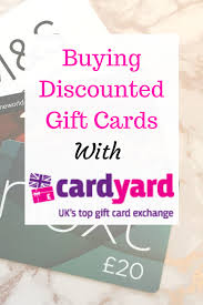 Save Money Buying Discounted Gift Cards With Cardyard Save Money