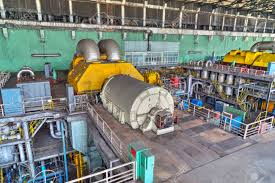 Image Hfo Diesel Machine Room In Thermal Power Plant With Electric Generators And Turbines Stock Photo 48753539 123rfcom Machine Room In Thermal Power Plant With Electric Generators Stock