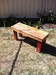 diy pallet bench 9 steps