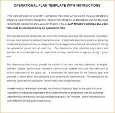 Sample Business Plans Templates Operational Goals And Plans Examples Plan Sample Business Es Doc Pl
