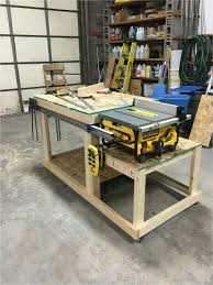 diy workbench fence workbench table saw bench tools and techniques in 2019