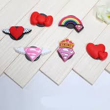 6 pcs rubber Cartoon Superman logo <b>fridge</b> magnets whiteboard ...