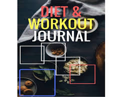 Diet Workout Journal Diet Workout Journal Track Your Diet And Exercise For 40