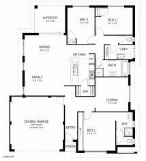 House Plan 2 Story House Plans With Basement Fresh 4 Bedroom House Plans E  ..