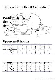 Lowercase Letter R Worksheet Free Printable Preschool And ...