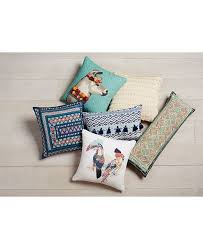 Martha Stewart Collection Bedding Dogs Decorative Pillows