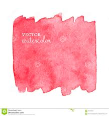 Bright Pink Paint Bright Pink Spot Abstract Stylish Watercolor Stock Vector Image