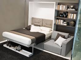 the swing is a self standing queen size wall bed featuring a 3 4 seat sectional sofa and sliding chaise with built in storage