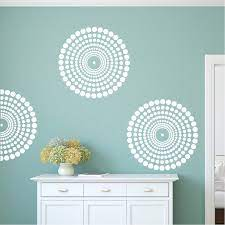 contemporary wall decal wall stencils